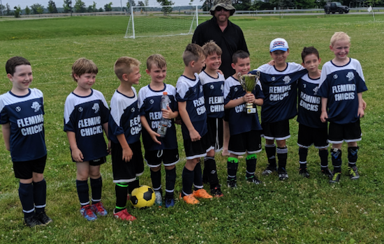 2019 West Niagara Cup Champs BU8 Lincoln & West Lincoln