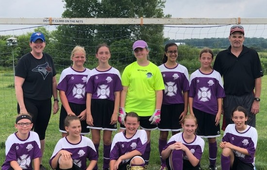 2019 West Niagara Cup Champs GU12